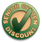 Senior Citizen Discounts Available